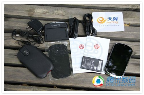 电信3G版联想乐phone评测 支持无线AP 2