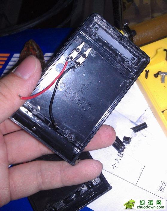 手机摄像头线路接线图diy_13块DIY手机移动电源-废物利用闲置手机电池及充电器(图文)__捉 ...