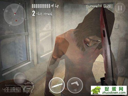 手感是个问题 iPhone游戏《纽约僵尸2》评测