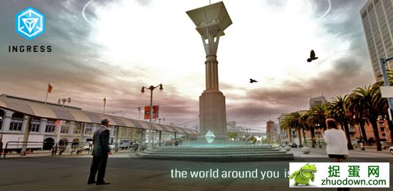 谷歌昨日推出虚拟现实互动游戏Ingress