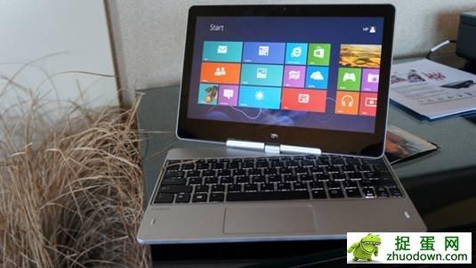 惠普Win8变形平板Revolve发布 明年三月上市
