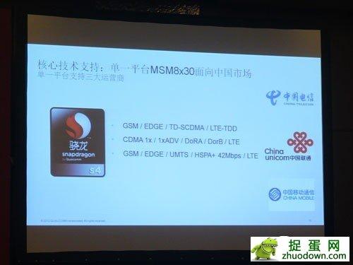 MSM8x25Q/MSM8x30 高通发力四核/TD市场
