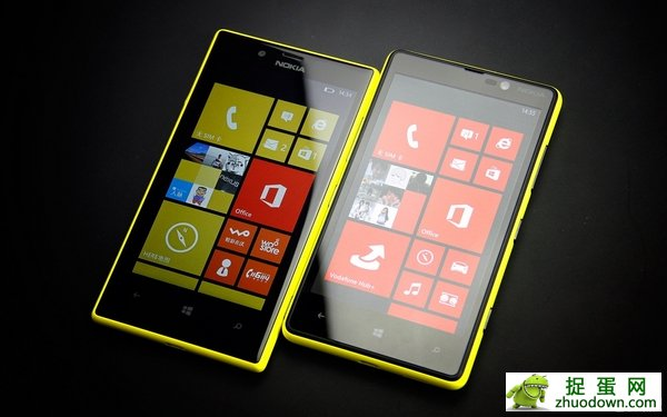 Lumia 720对比820