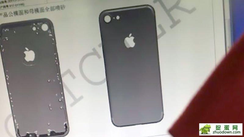 iPhone 7是这个样子的