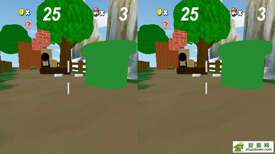 超级玛丽 VR游戏需配合VR眼镜使用推荐暴风魔镜