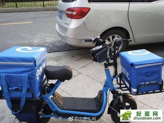 已经应用石墨烯电池的快递车