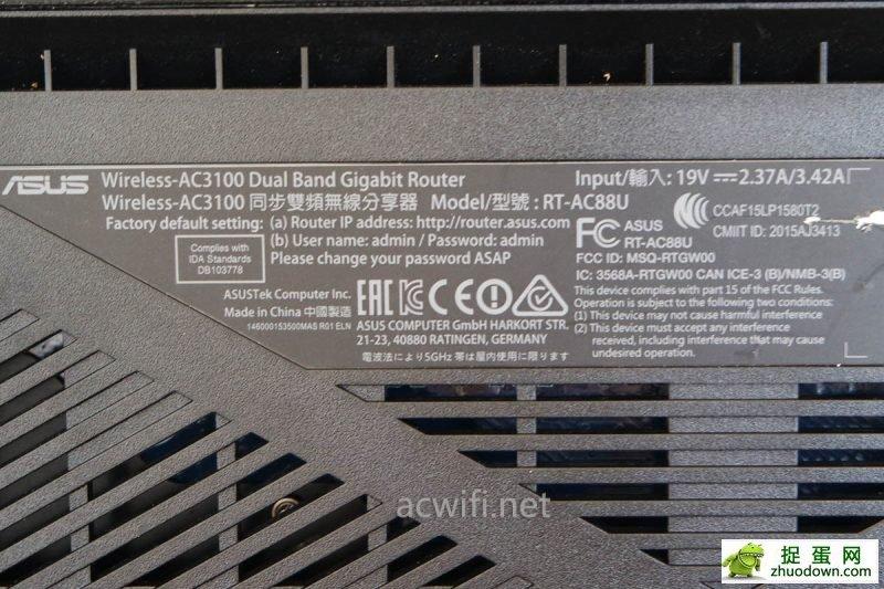 华硕AC88U拆机