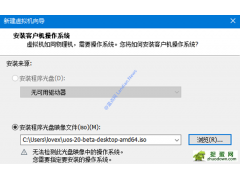 UOS 64 位 beta 版UOS-20-Beta-Desktop-AMD64.iso 统一操作系统