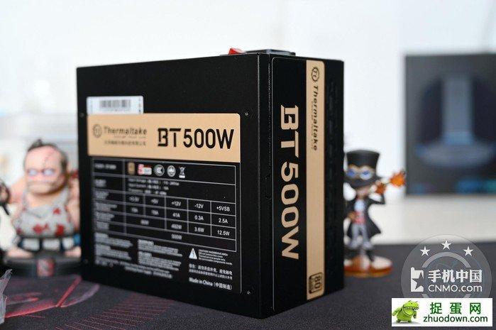 【图片1】自备收纳盒,全日系电容加持,曜越BT500W开箱体验