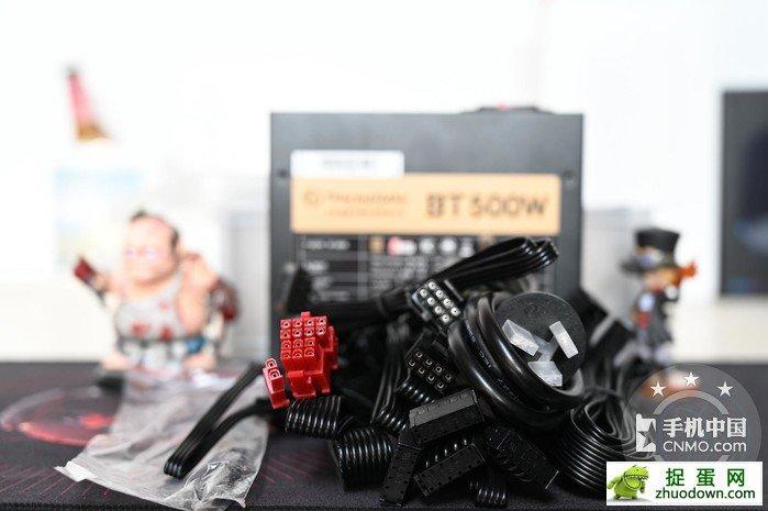 【图片4】自备收纳盒,全日系电容加持,曜越BT500W开箱体验