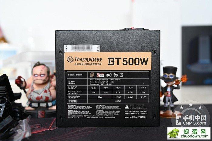 【图片7】自备收纳盒,全日系电容加持,曜越BT500W开箱体验