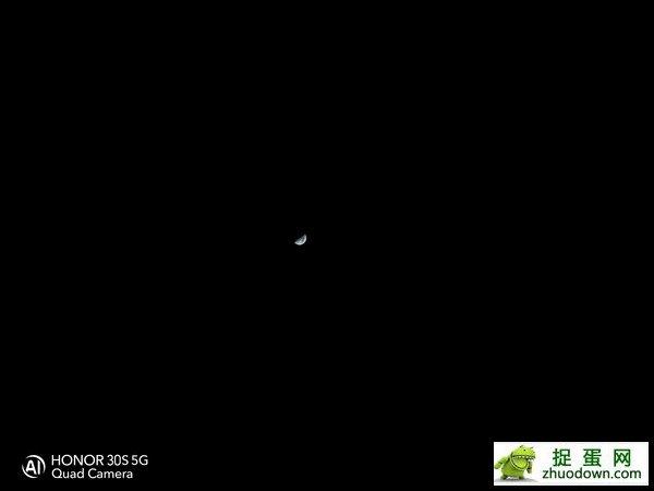 荣耀30S拍月亮(3倍变焦)